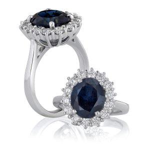 black-sapphire-cluster