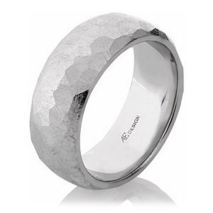 faceted-wedding-band