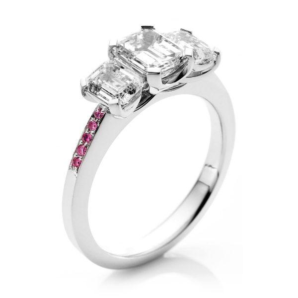 Custom Engagement Ring - Sydney CBD
