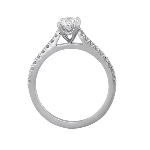 Custom Engagement Ring - Sydney CBD Oval - GIA Certified: 6173993243