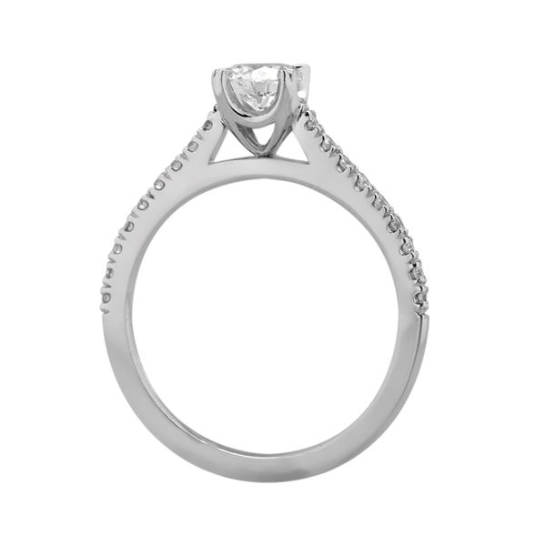 Custom Engagement Ring - Sydney CBD Round - GIA Certified: 6241950365