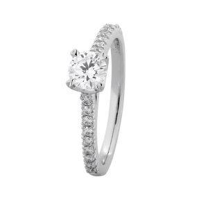 Custom Engagement Ring - Sydney CBD Round - GIA Certified: 6241950365