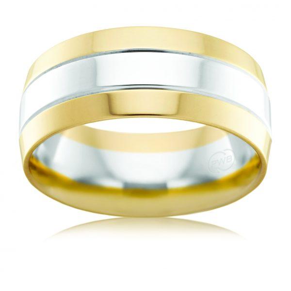 AE Design Jewellery - 2T2704BB Wedding Band