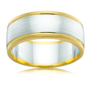 AE Design Jewellery - 2T2704BB Wedding Band