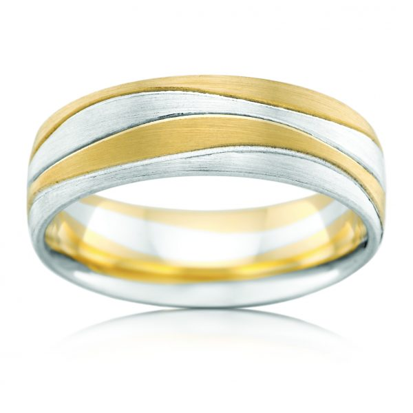 AE Design Jewellery - 2T4159CA Wedding Band