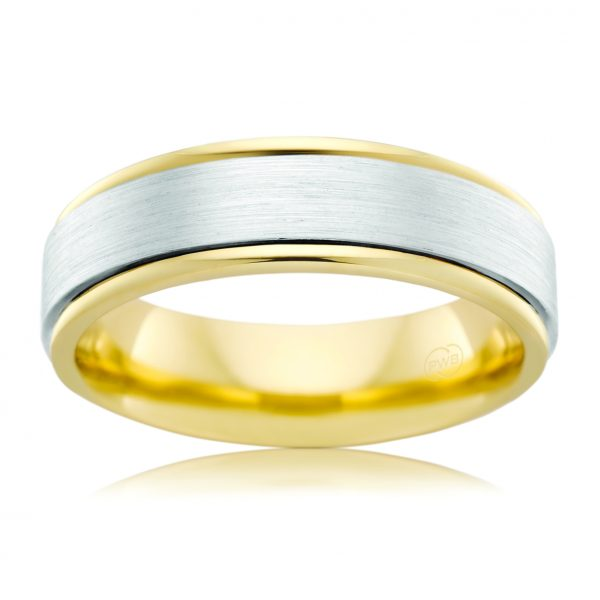 AE Design Jewellery - 2TJ2577BB Wedding Band