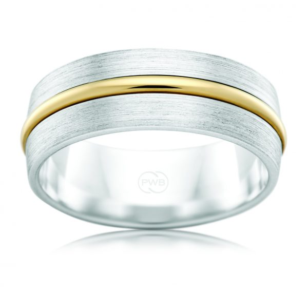 AE Design Jewellery - 2TJ3504BA Wedding Band