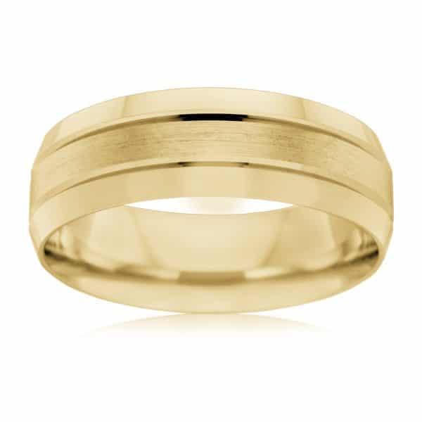 AE Design Jewellery - F2943_Y Wedding Band